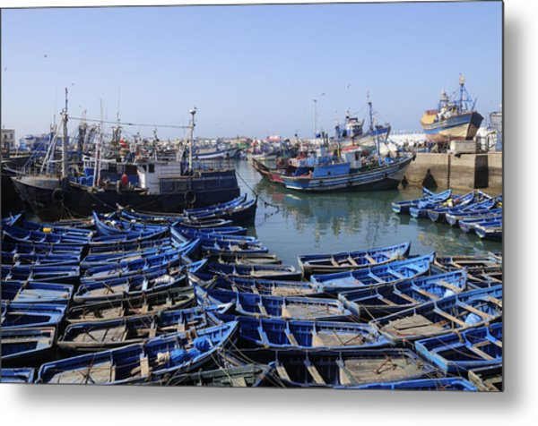 Essaouira Morocco Metal Print by Liz Pinchen