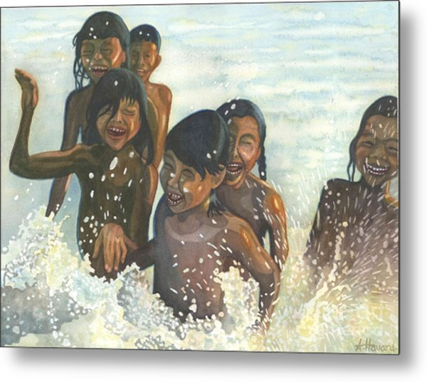 Essence Of Joy Metal Print