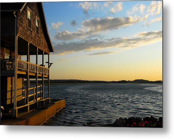 Essex Beach House Metal Print