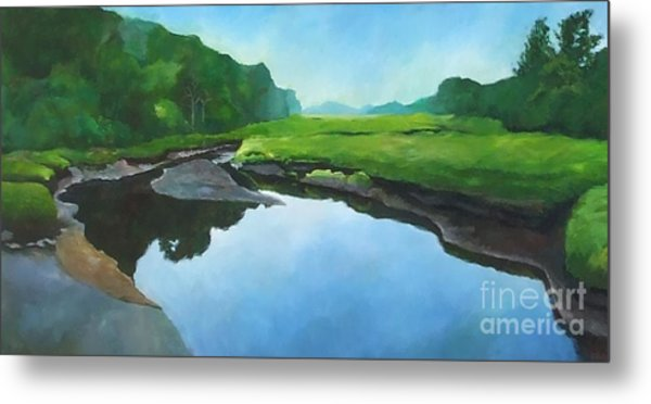 Essex Creek Metal Print