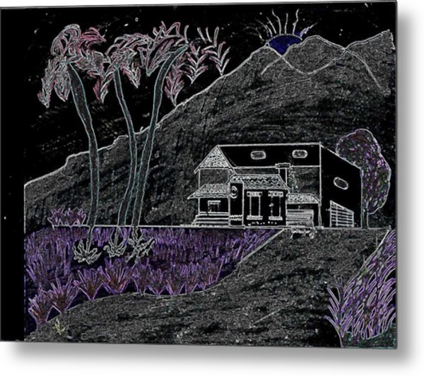 Estate Metal Print by Karen Diggs