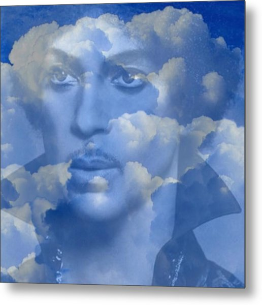 Eternal Bliss For Our Beloved Prince Metal Print