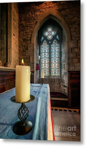 Metal Print featuring the photograph Eternal Flame by Adrian Evans