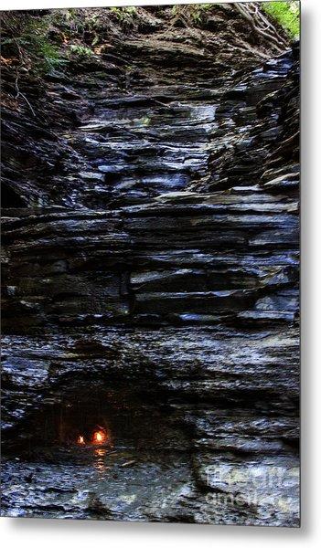 Eternal Flame Falls Metal Print