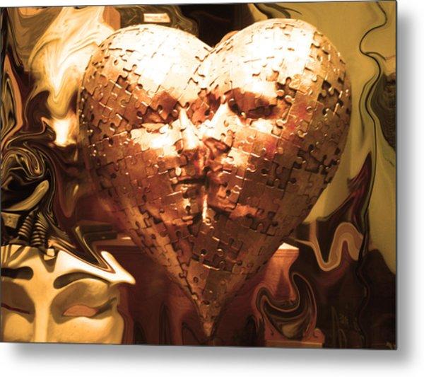 Eternal Kisses Metal Print by Edan Chapman