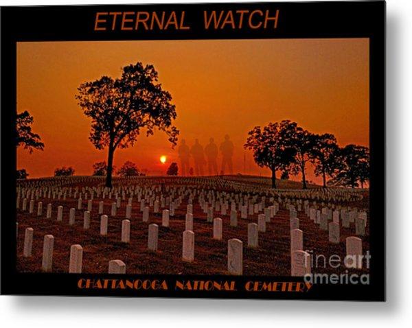 Eternal Watch Metal Print