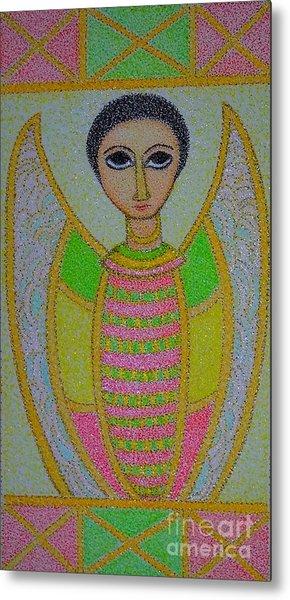 Ethiopian  Orthodox Angel Metal Print