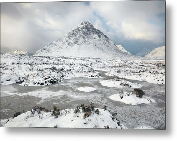 Etive Mor Winter Metal Print