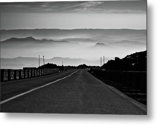 Etna Road Metal Print