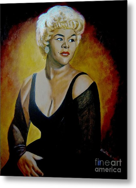 Etta James Metal Print