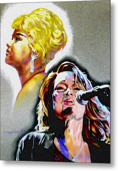 Etta James Metal Print by Christopher Martinez