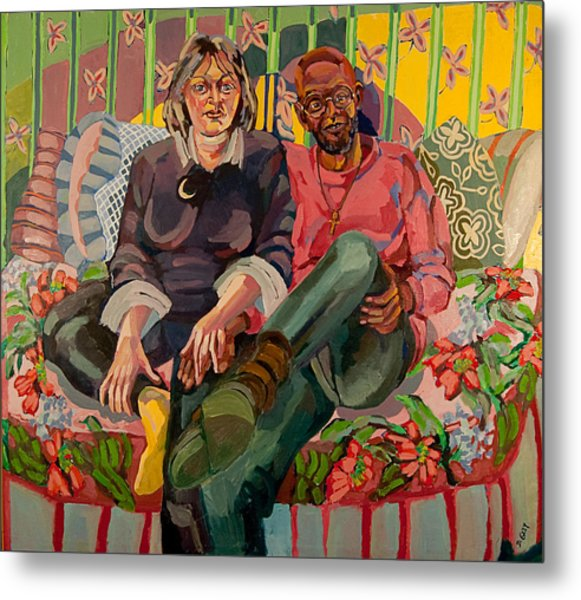 Eugene And Joanna Metal Print