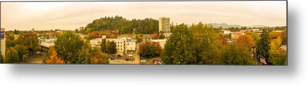 Eugene Fall Color Metal Print