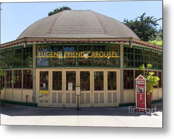 Eugene Friend Carousel At The San Francisco Zoo San Francisco California Dsc6331 Metal Print