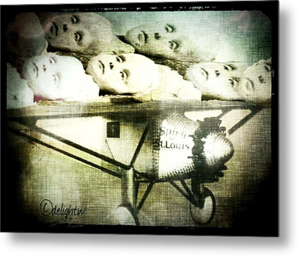 Metal Print featuring the digital art Eugenics 101 by Delight Worthyn