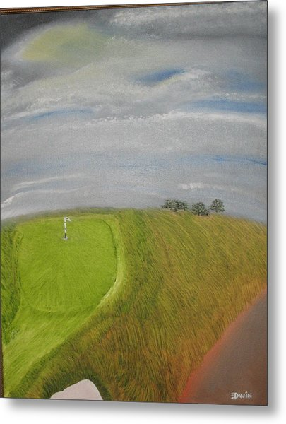 European Golf Tour Metal Print by Edwin Long