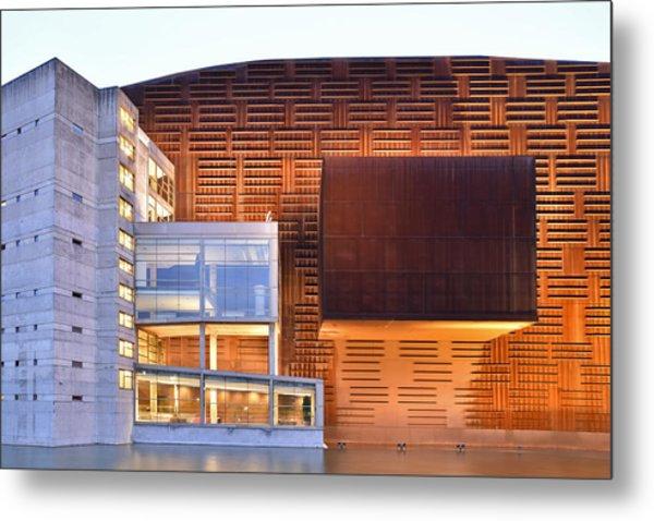 Euskalduna Center Bilbao Spain Metal Print