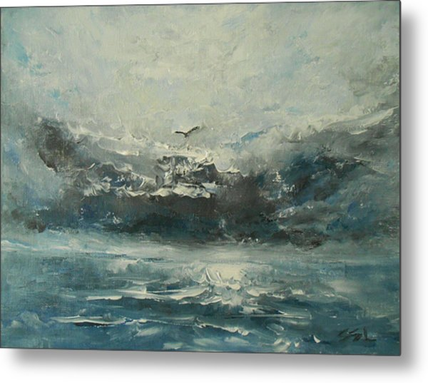 Even If The Skies Get Rough Metal Print