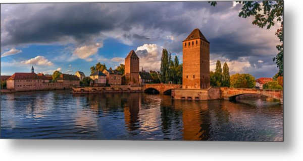 Evening After The Rain On The Ponts Couverts Metal Print