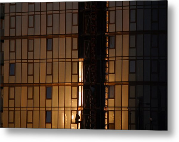 Evening Glass Metal Print by Jez C Self