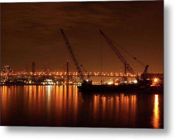 Evening Illumination Metal Print