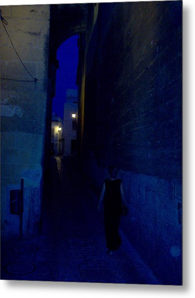 Evening In Arcos Spain Metal Print
