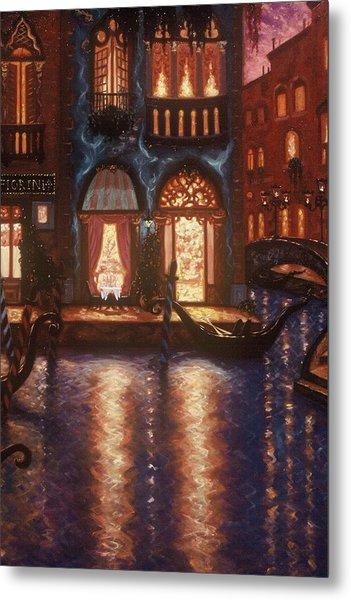 Evening In Venice Metal Print by Scott Jones