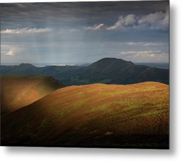 Evening Light Metal Print by Richard Greswell