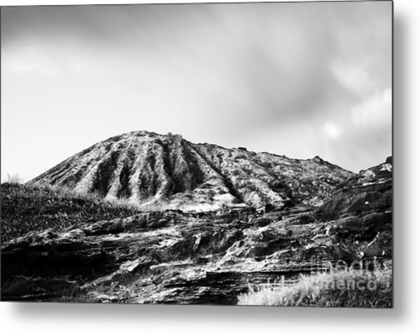 Evening On Koko Crater Metal Print