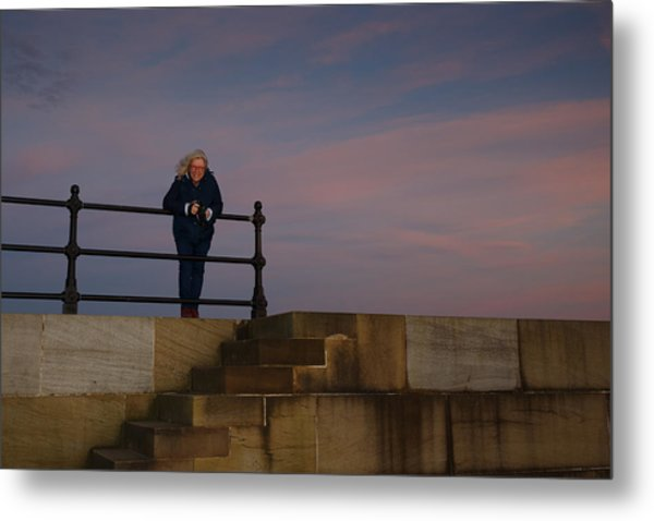 Metal Print featuring the photograph Evening Portrait by Paul Indigo