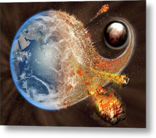 Event Horizon Metal Print