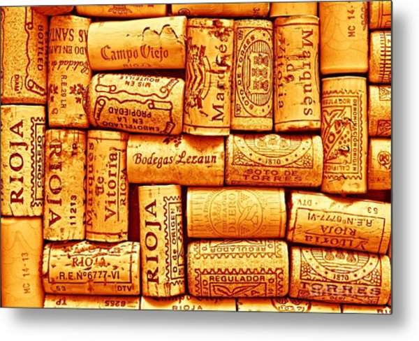 Every Which Way Rioja Metal Print