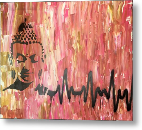 Metal Print featuring the painting Everything Is Energy by Jayime Jean