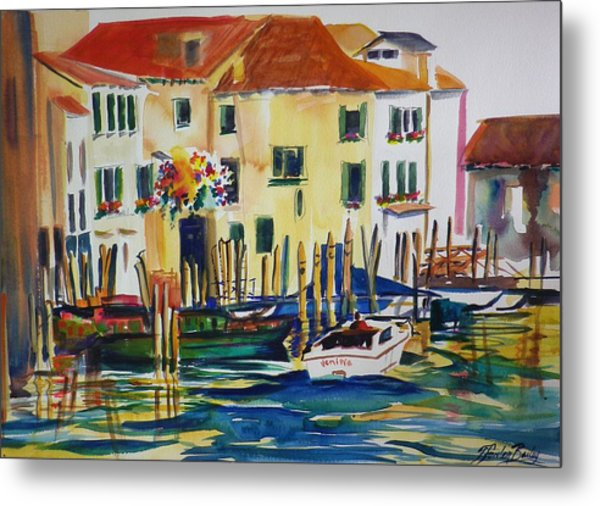 Everything Venice Metal Print by Therese Fowler-Bailey