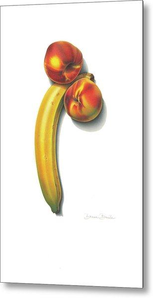 Eve's Favorite Fruit Metal Print