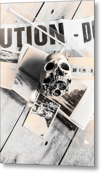Evidence Of Old Crimes Metal Print
