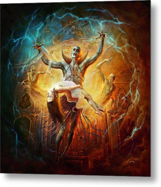 Evil God Metal Print