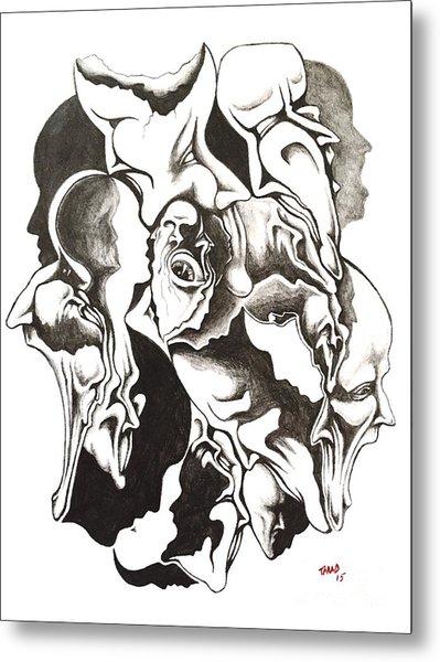 Evolution In Mind  Metal Print