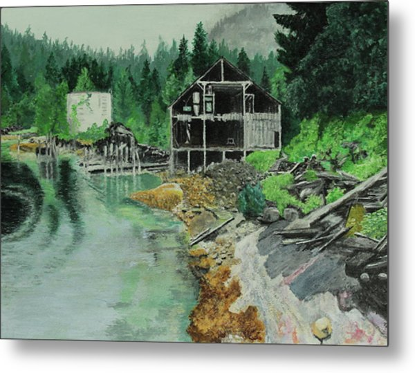 Ex-cannery Metal Print