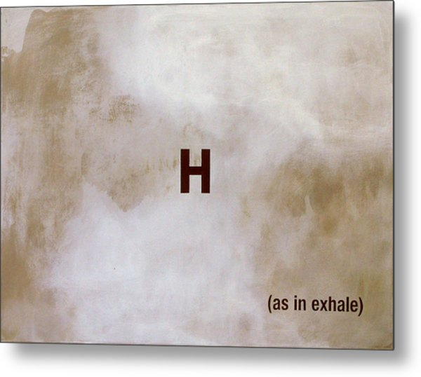 Exhale Metal Print by Andrew Crane