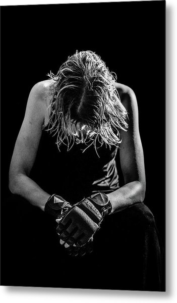 Exhaustion Metal Print