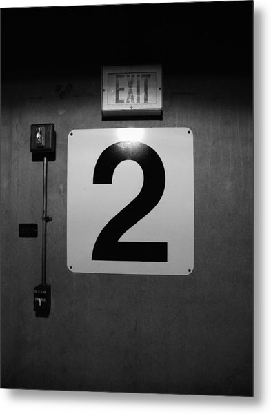 Exit Two Metal Print