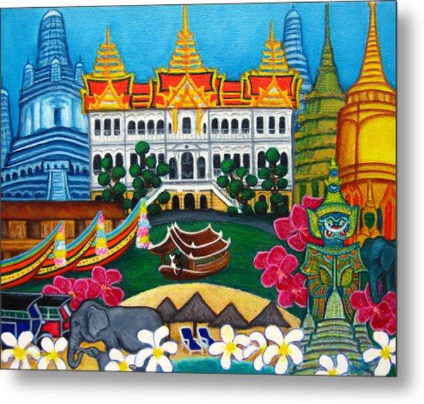 Exotic Bangkok Metal Print