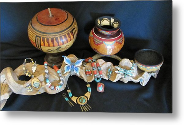 Exotic Gourds Metal Print