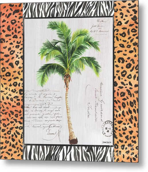 Exotic Palms 1 Metal Print
