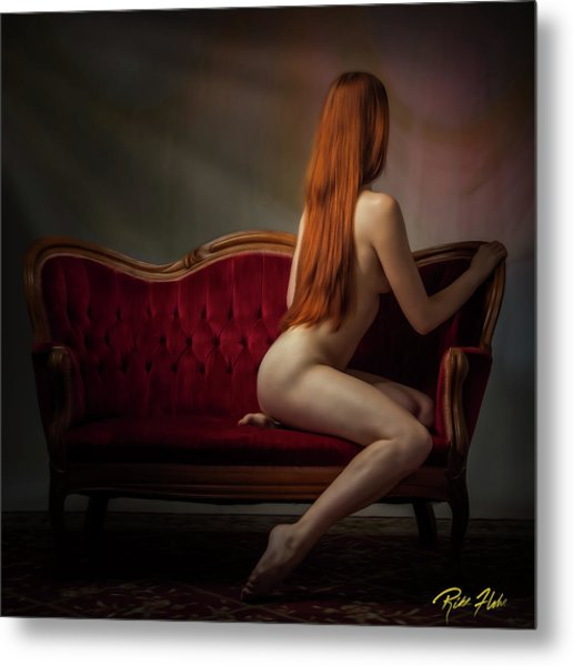 Expectation Metal Print