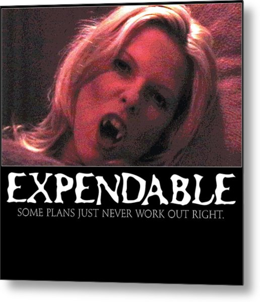 Expendable 1 Metal Print