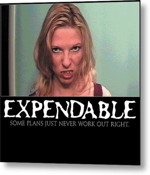 Expendable 10 Metal Print