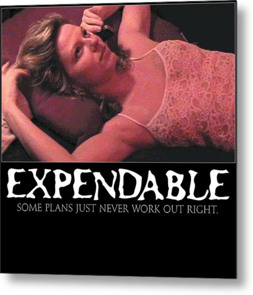 Expendable 4 Metal Print