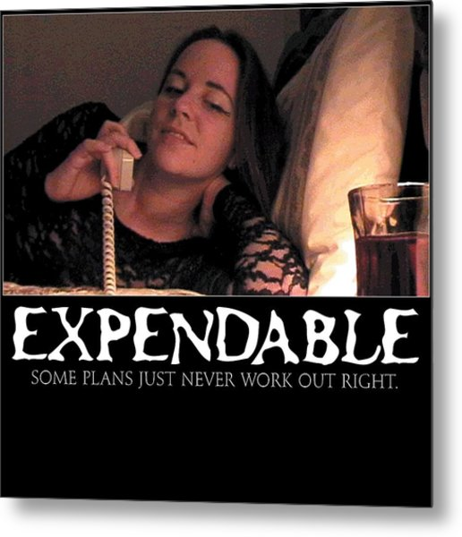 Expendable 5 Metal Print